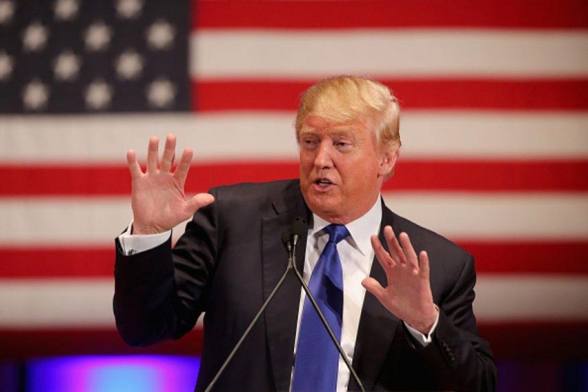 Donald Trump, un dolor de cabeza para el Partido Republicano Foto:Getty Images