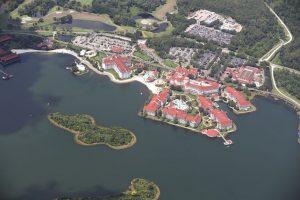"""El niño desapareció a orilla del lago artificial """"Seven Seas Lagoon"""" Foto:Getty Images"""