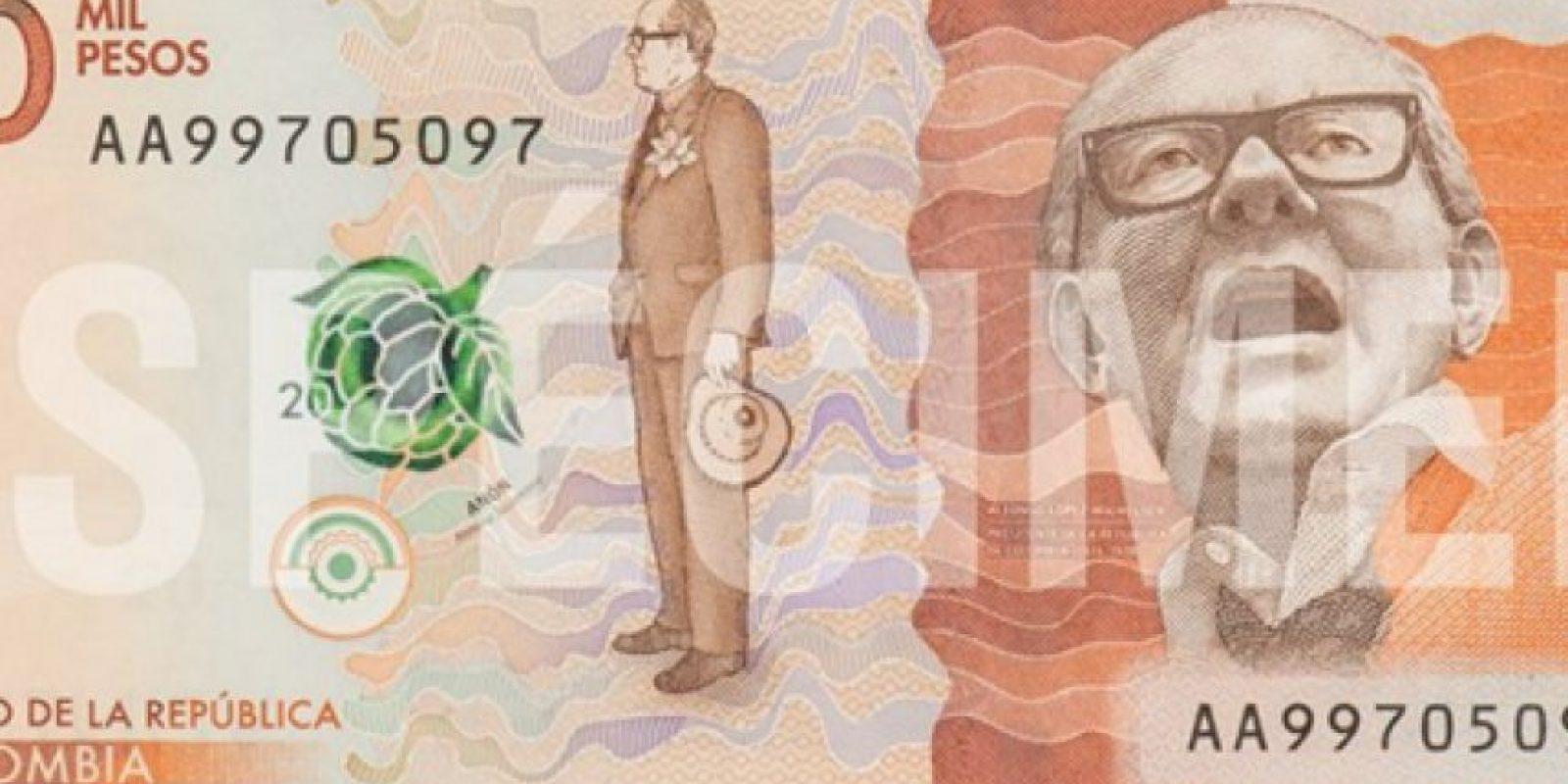 Este es el anverso del billete. Foto:Cortesía Banco de la República