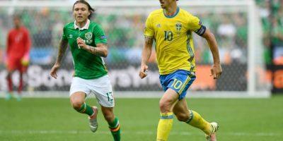 Zlatan Ibrahimovic fue uno de los jugadores que no pudo demostrar su talento ante los irlandeses Foto:Getty Images