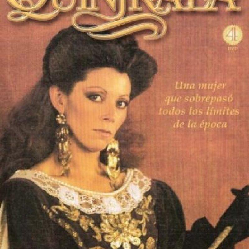 La interpretó Raquel Argandoña en la telenovela de 1986. Foto:Televisión Nacional de Chile