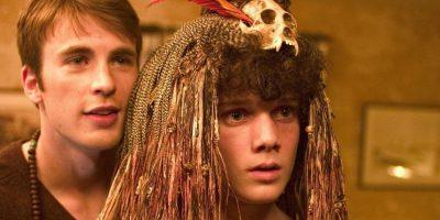"""Chris Evans y Antón en la cinta """"Fierce People"""" Foto:IMDB"""