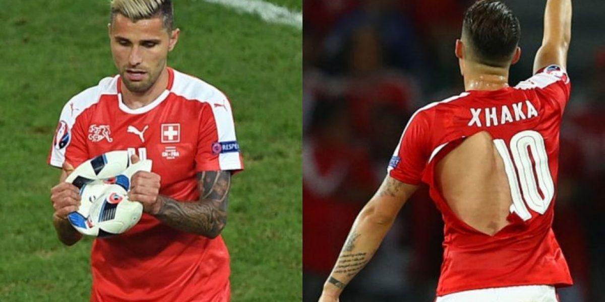 Eurocopa 2016: Camisetas y balón rotos, marcador intacto entre Suiza y Francia