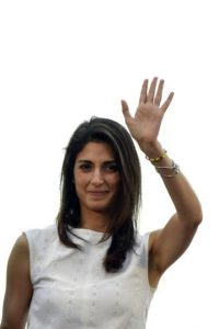 Esta casada con Andrea Severini, integrante también del M5S Foto:AFP