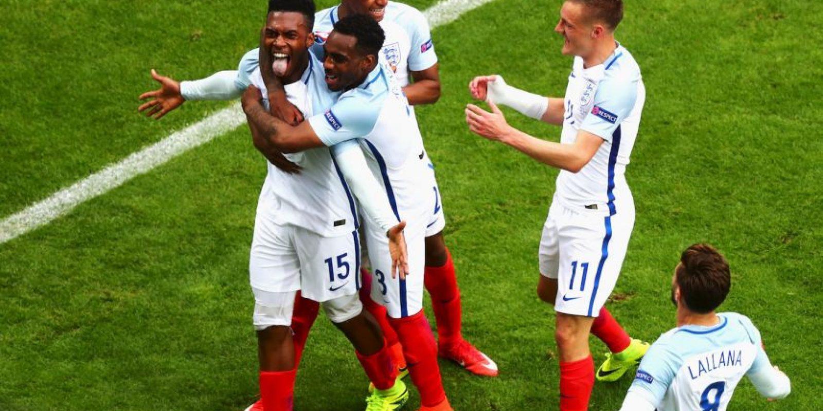 Los ingleses suman cuatro unidades y son líderes de su grupo, luego de vencer a Gales por 2 a 1 y empatar con Rusia en la primera fecha Foto:Getty Images