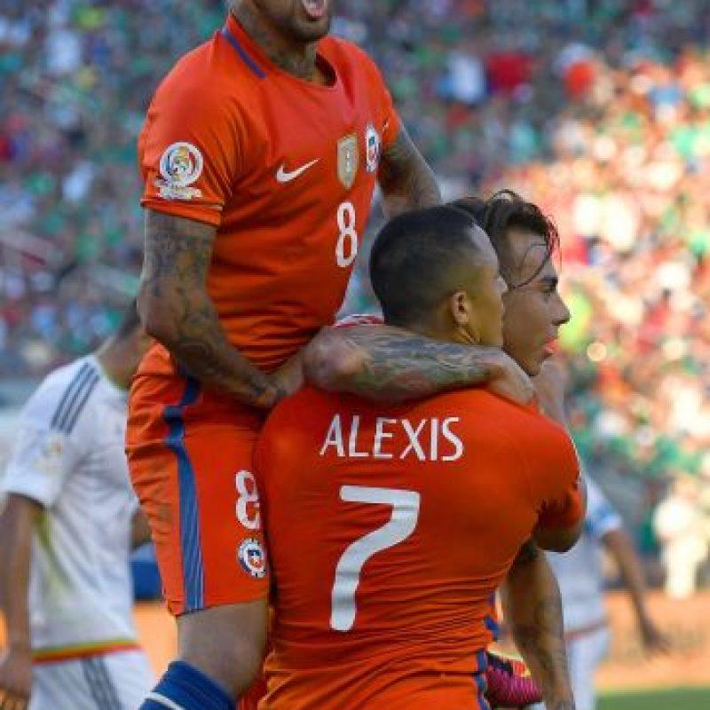 La Roja venía cuestionada por hinchas y especialistas, pero demostró todo su poderío con la goleada ante México Foto:Getty Images