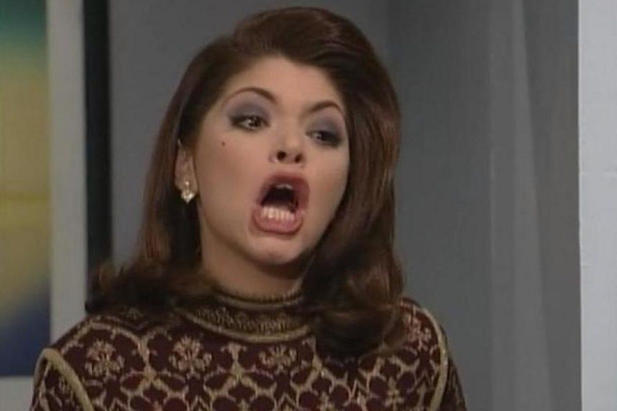La interpretó Itatí Cantoral. Foto:vía Canal de las Estrellas