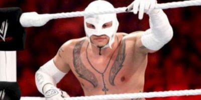8. Rey Mysterio. El 25 de julio de 2011 ganó un torneo por el título, pero esa misma noche perdió con John Cena Foto:WWE