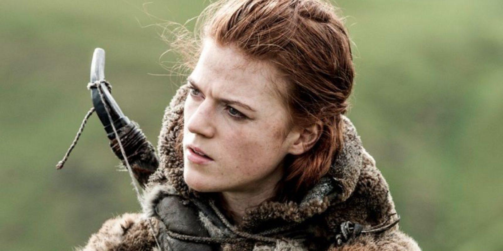 Ygritte murió en brazos de Jon Snow. Foto:vía HBO