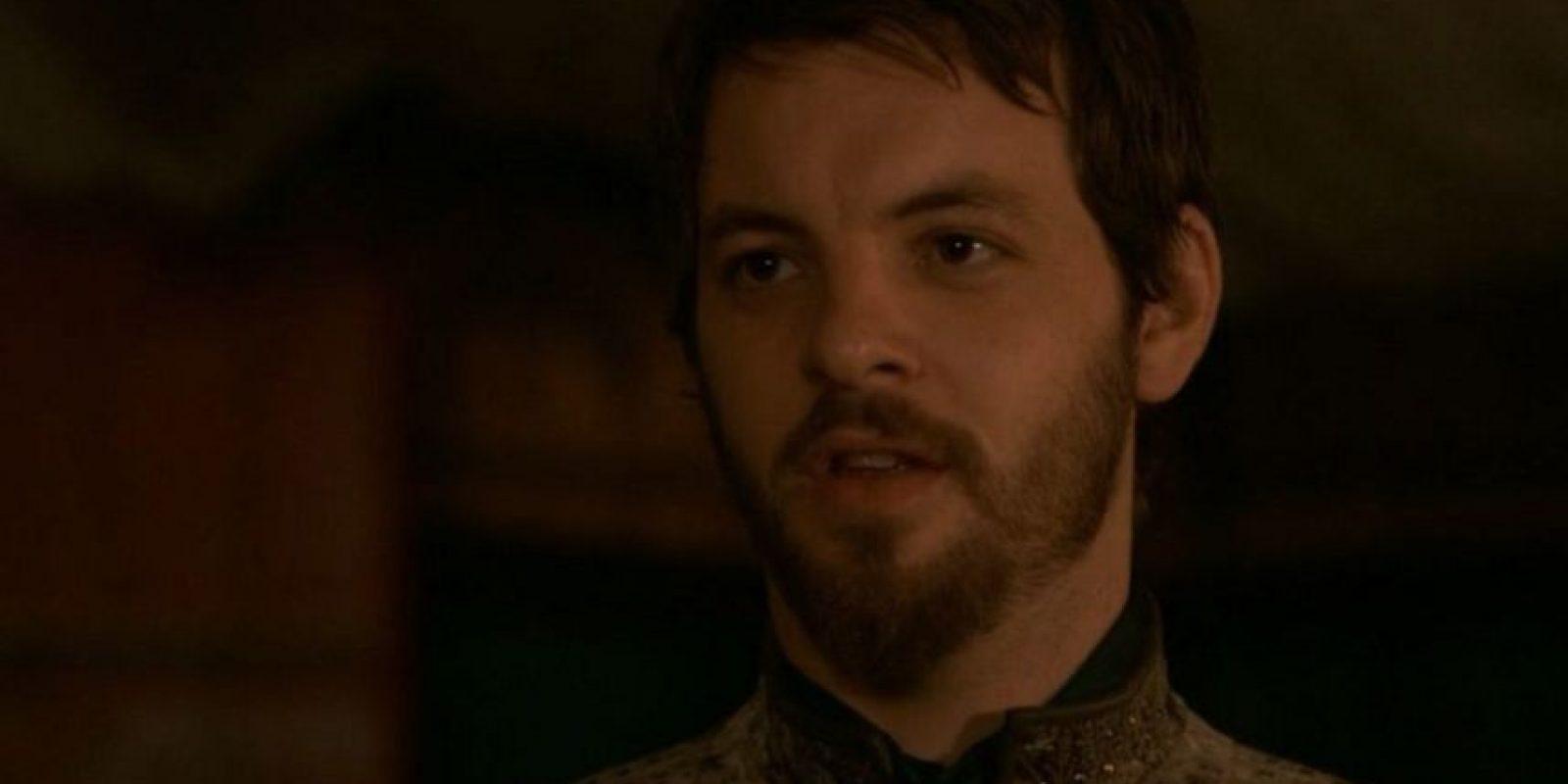 Renly Baratheon fue apuñalado por una sombra. Foto:vía HBO