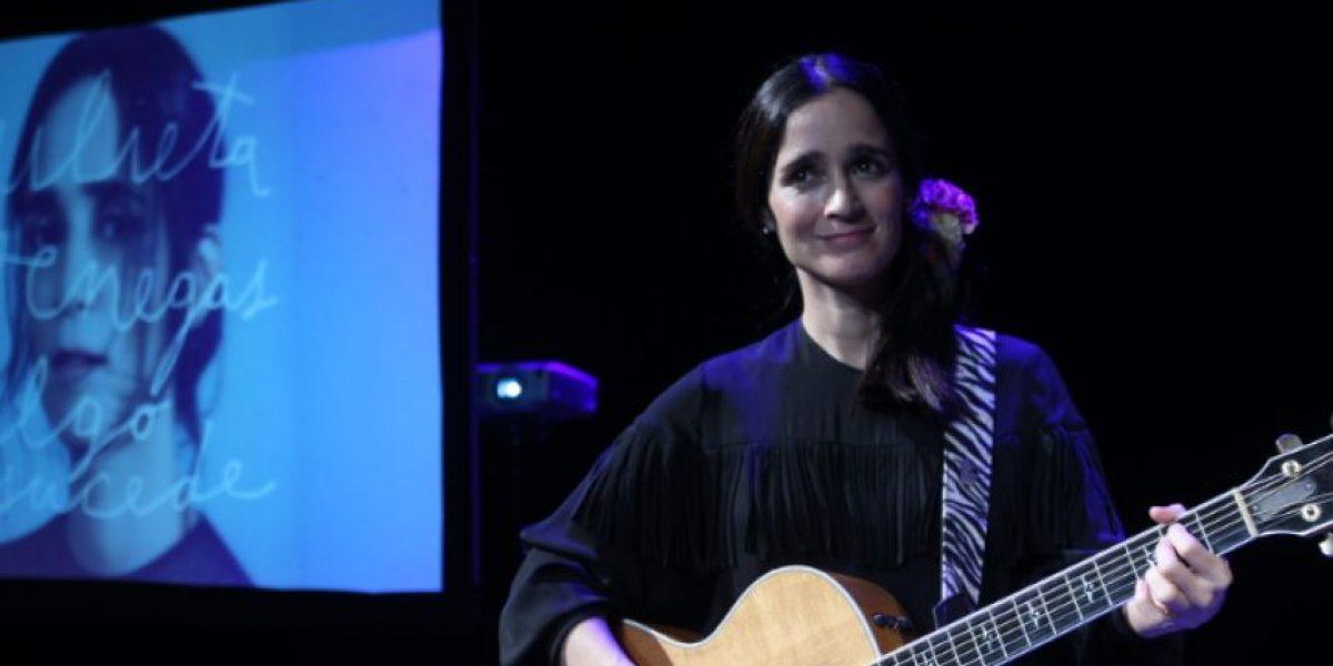 Julieta Venegas vuelve a Bogotá llena de historias por contar con su música