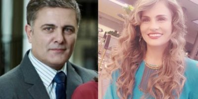 Marcelo Dos Santos y Aura C. Gheitner Foto:Prensa Caracol TV – Instagram