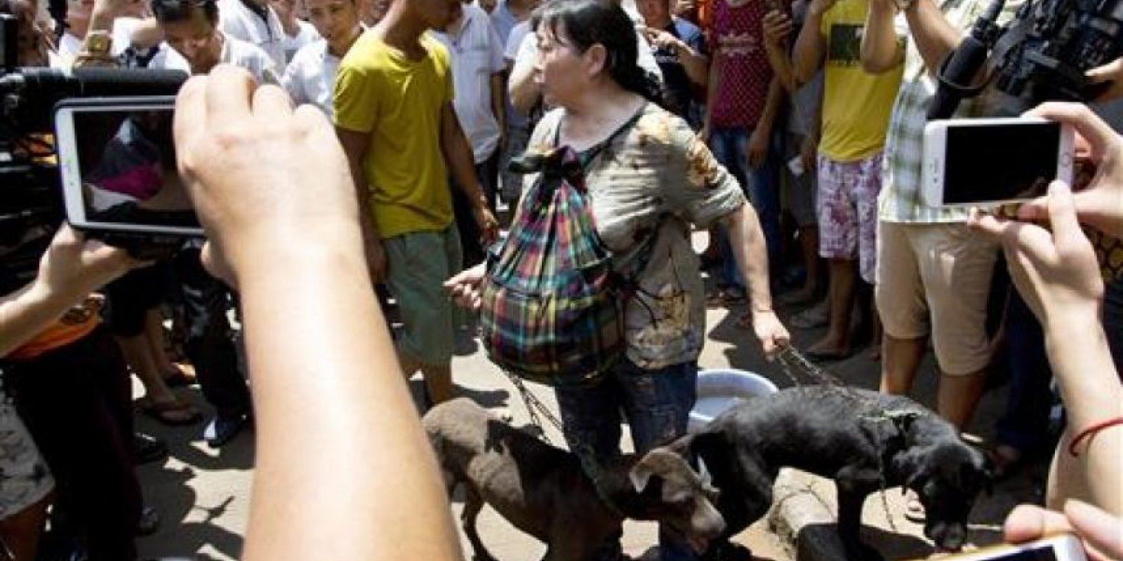 """Los activistas piden terminar con esta práctica """"bárbara y cruel"""" Foto:AP"""