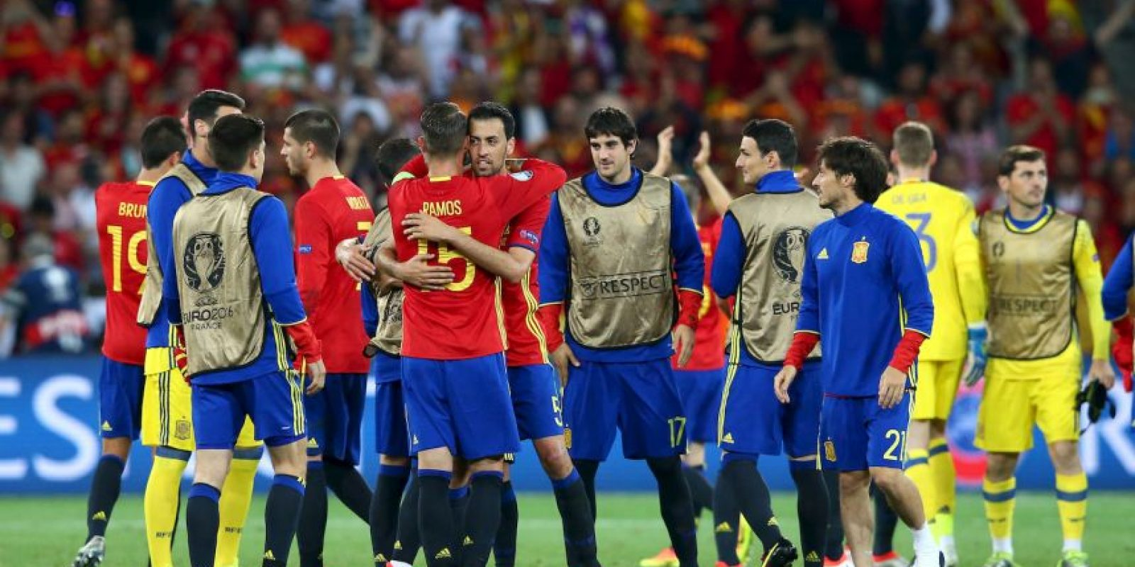 España vs. Croacia Foto: Getty Images