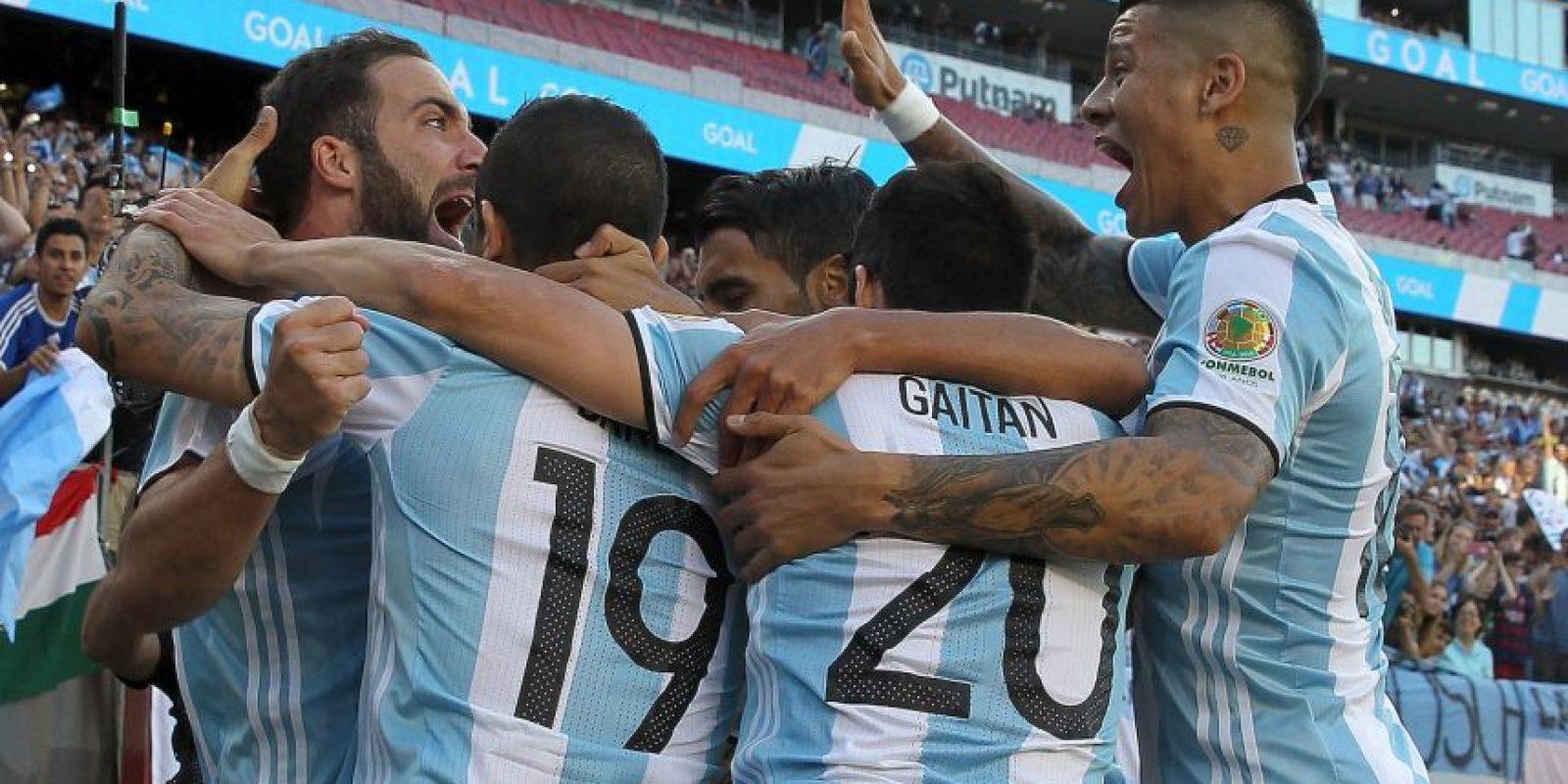 Argentina es la gran favorita para quedarse con el título y el último escollo para llegar a la definición por el título es Estados Unidos Foto:Getty Images