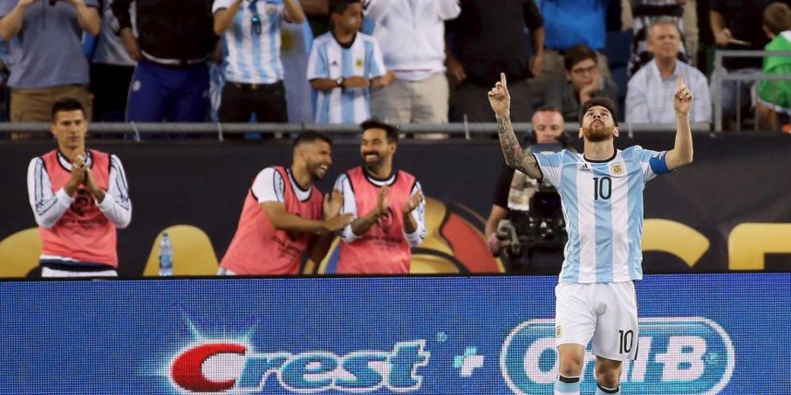 Sin embargo, en frente se encontrarán con Lionel Messi y la poderosa Argentina Foto:Getty Images