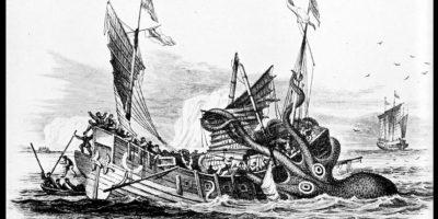 Kraken es uno delos monstruos mitológicos más temidos. Foto:Reproducción Wikipedia
