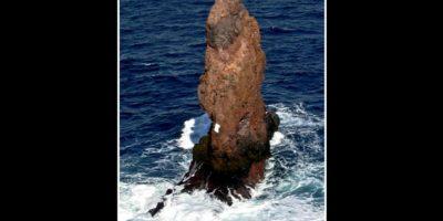 Pero resultó ser una roca llamada Sail Rock, ubicada al norte de la Antártida continental, al suroeste de la isla Decepción. Foto:http://www.southernfriedscience.com/