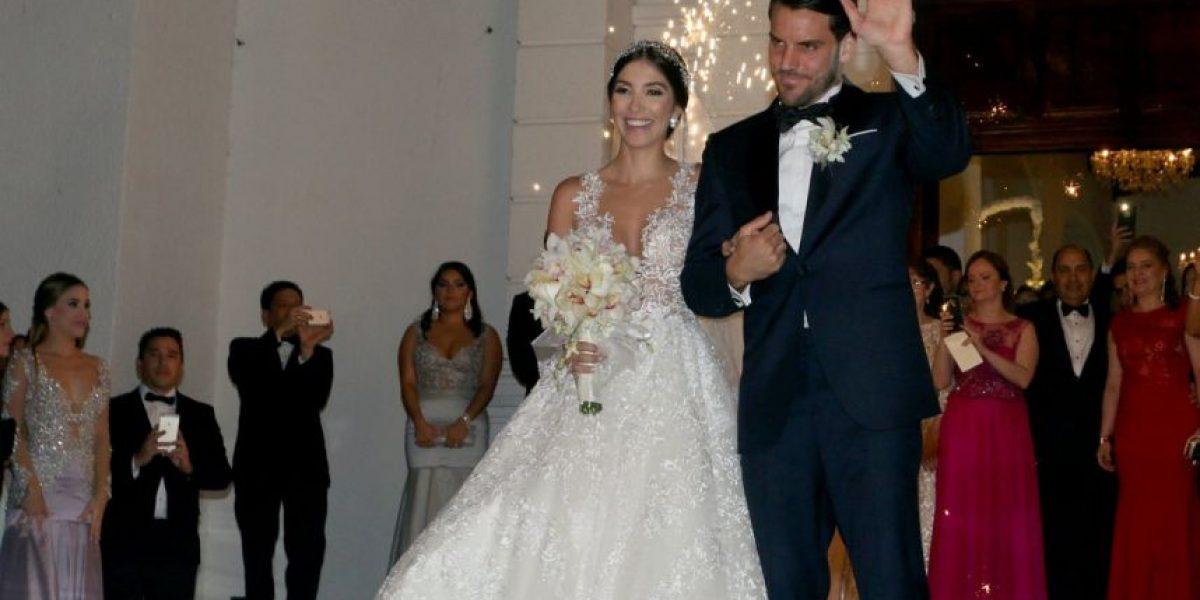 En fotos: así fue el matrimonio de Sebastián Viera, Capitán de Junior, en Barranquilla