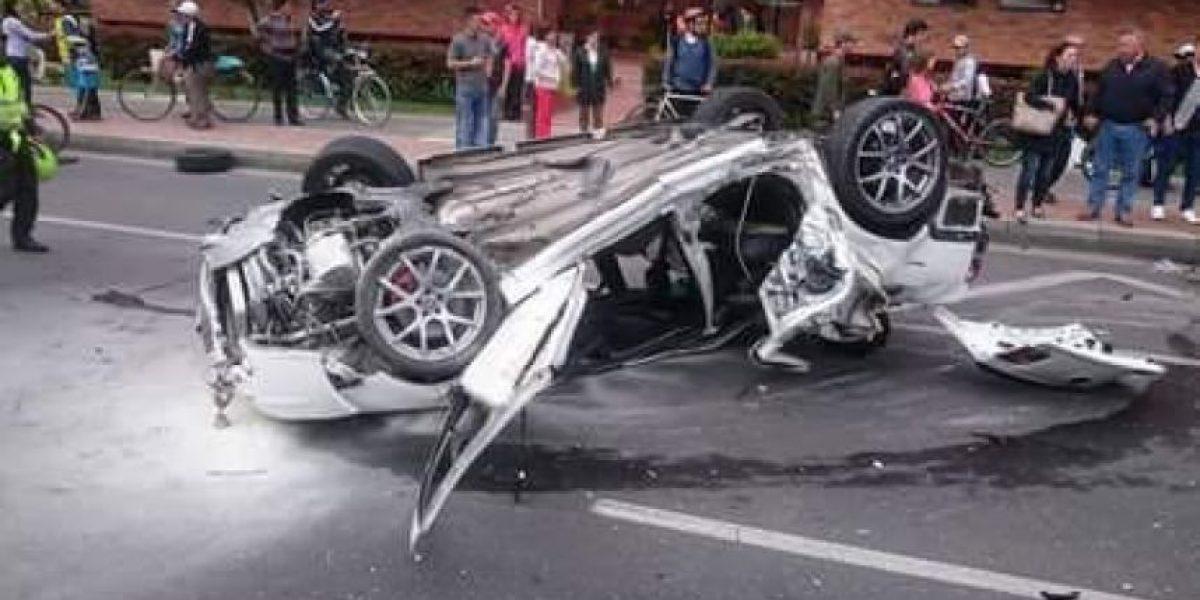 Grave accidente de tránsito en la carrera novena con 170