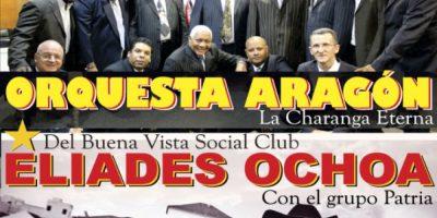 """La popular orquesta cubana """"Orquesta Aragón"""" llenará de sabor a Medellín en Plaza Mayor. Foto:Tomada de Ticketexpress.com.co"""