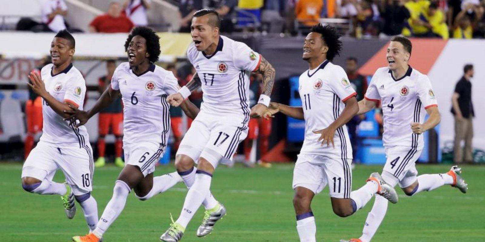 Y avanzaron tras el fallo de Christian Cueva y haber anotado todos sus goles Foto:Getty Images