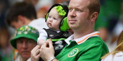 Ellos son los hinchas irlandeses más coloridos de la Euro 2016 Foto:Getty Images