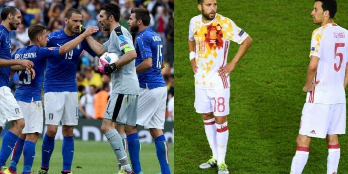 Así están quedando los octavos de final de la Eurocopa