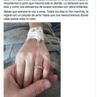 Así le dijo adiós Tony, su pareja con la que llevaba 3 años de relación Foto:Facebook Yumara Ló