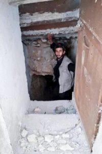 Serdar Mahmud reveló que también había túneles secretos en la casa Foto:Twitter.com/SerdarMahmud