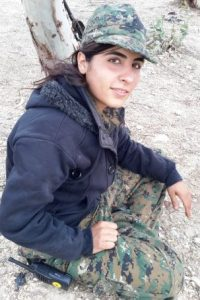 La lucha de las mujeres es una de las más importantes en la región Foto:Twitter.com/SerdarMahmud