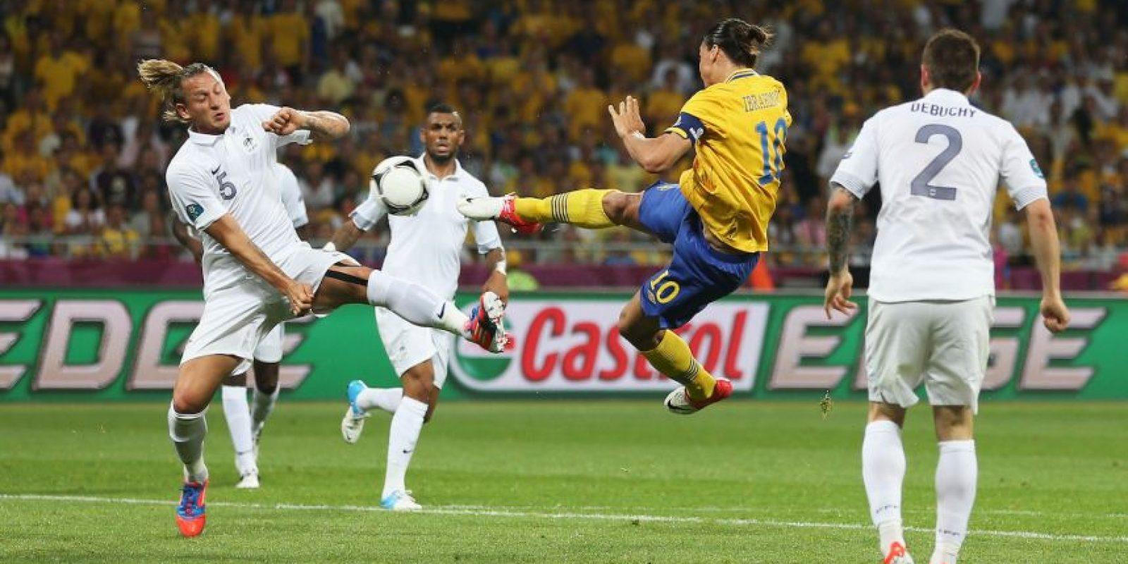 La acrobática tijera ante Francia es recordada por todos Foto:Getty Images