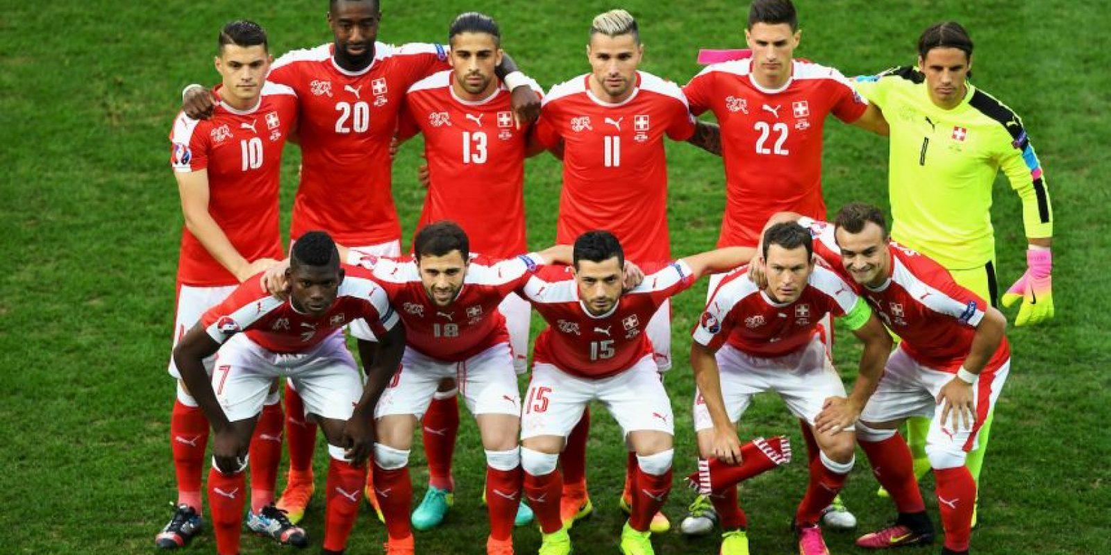Los 16 clasificados: Suiza Foto:Getty Images