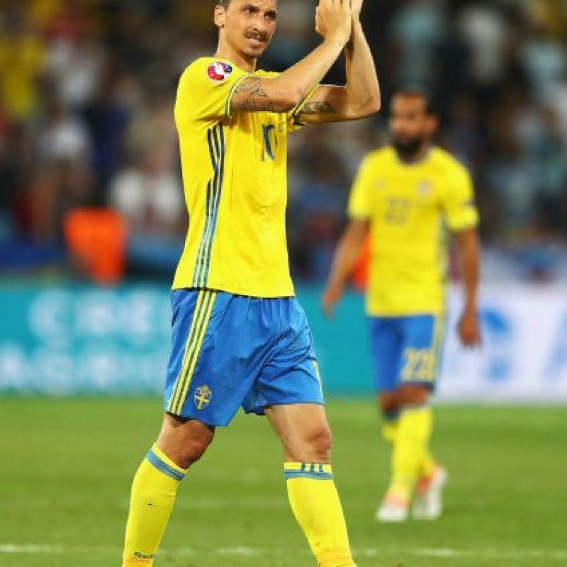 Zlatan Ibrahimovic (Suecia) Foto:Getty Images
