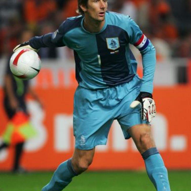 Edwin Van Der Sar (Holanda) Foto:Getty Images