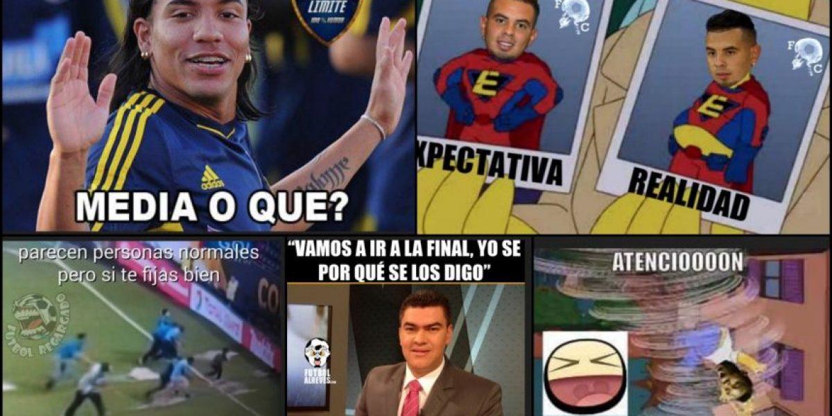 Memes y burlas por la tormenta y la derrota de Colombia con Chile