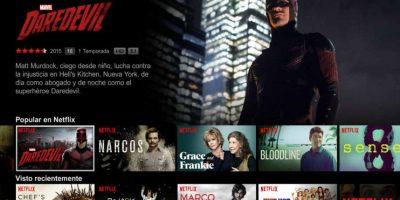 Maratón de Netflix, claro. Foto:Netflix