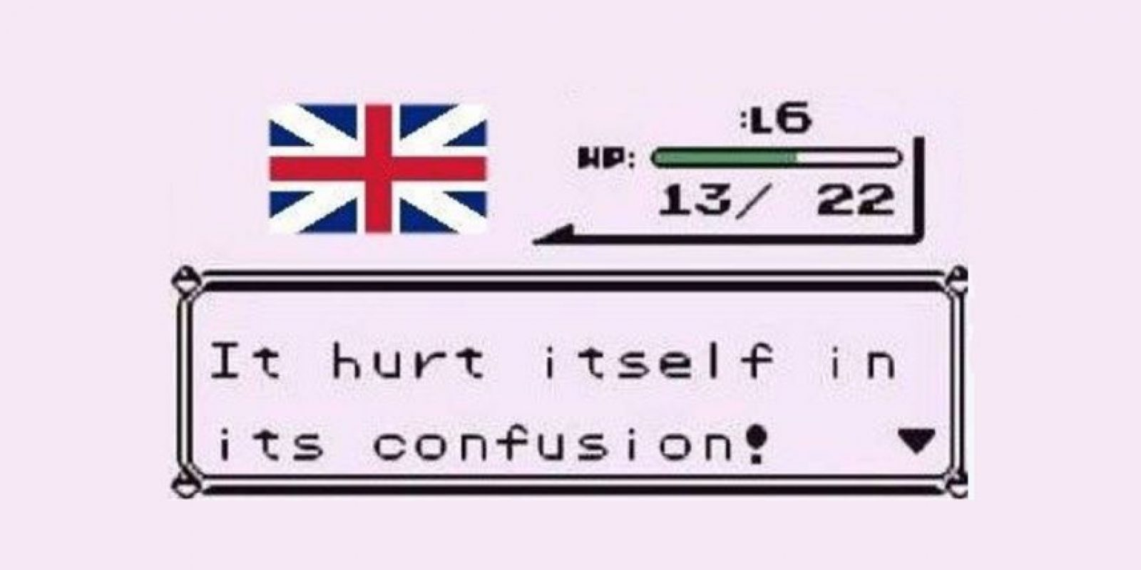 """""""¡Reino Unido está tan confundido que se hace daño a sí mismo!"""" Foto:Twitter/Cat O Broin"""