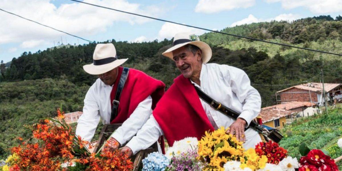 Fotos: Los silleteros se preparan para llenar de orgullo y tradición las calles de Medellín