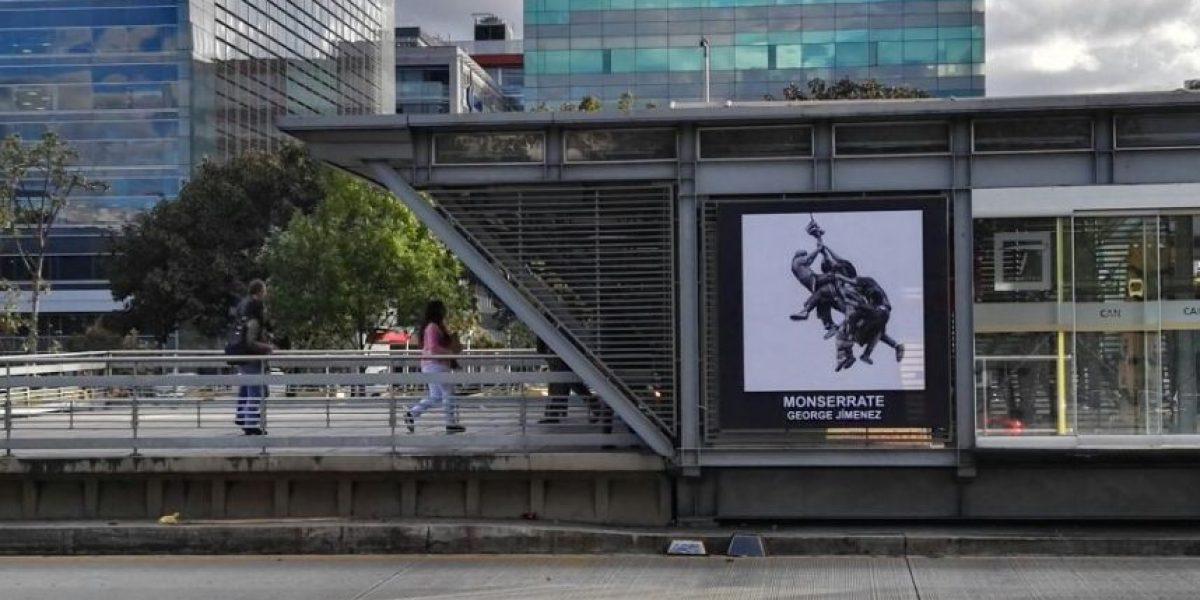 Fotos: TransMilenio se convierte en una galería de arte
