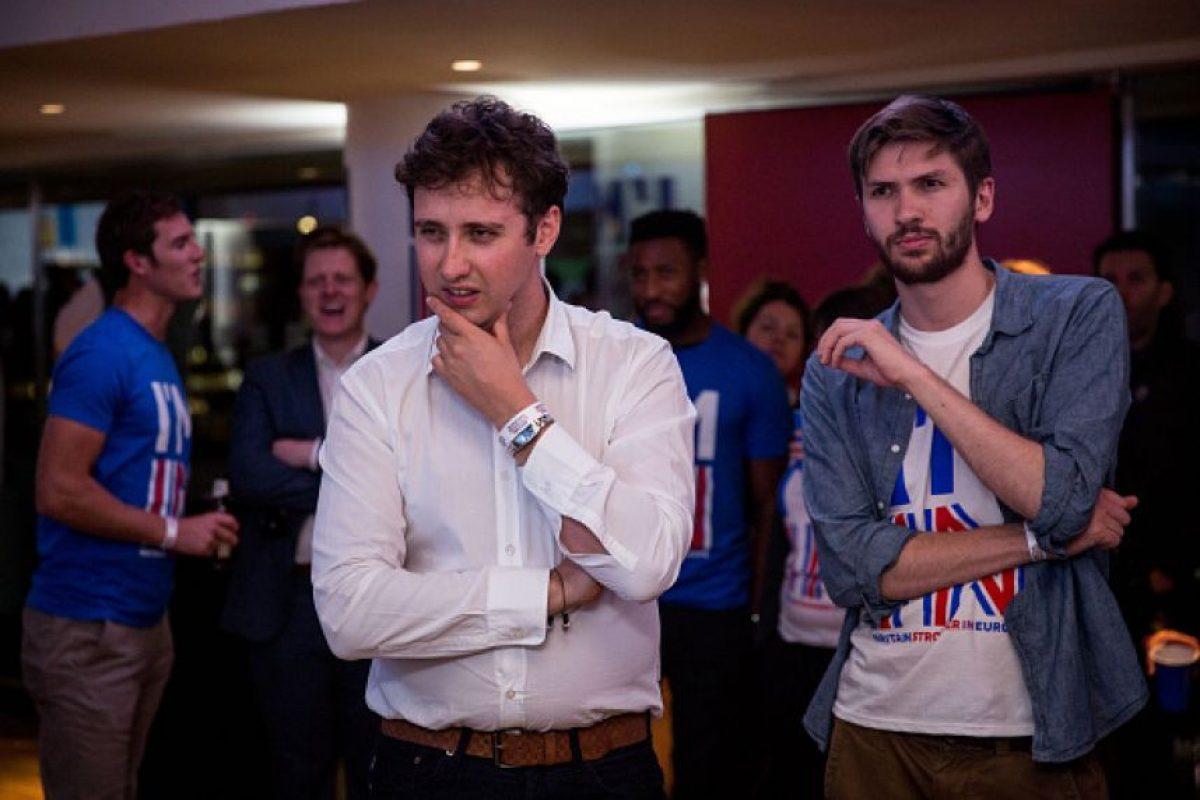 Así lo vivieron los partidarios de la permanencia en la Unión Europea Foto:Getty Images