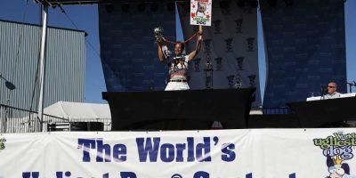 La competición tuvo lugar en Pelatuma, California. Foto:Getty Images