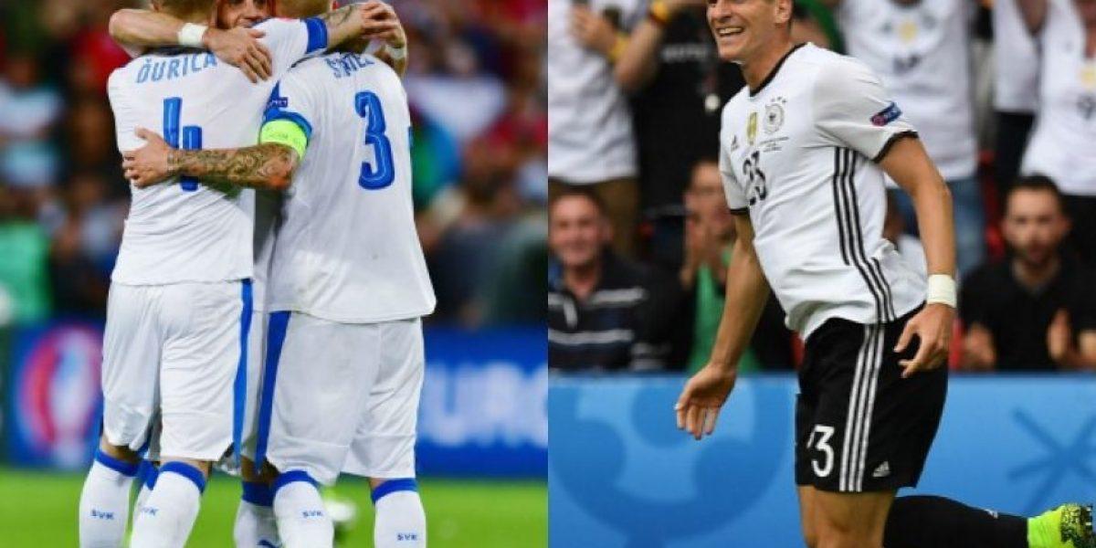 A qué hora juegan Alemania con Eslovaquia en octavos de la Euro