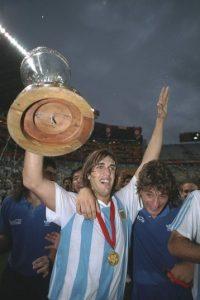 Han pasado 23 años desde que Argentina se coronó en la Copa América por última vez Foto:Getty images
