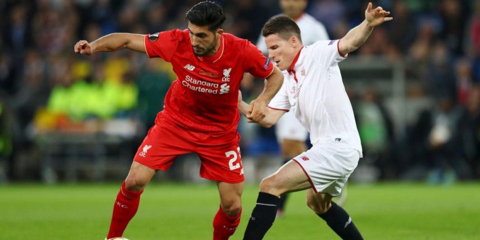 Emre Can no habría sido fichaje del Liverpool Foto:Getty Images