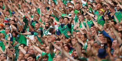 Ante Alemania se volvieron a lucir con el cántico de moda de la Eurocopa: 'Will Grigg is on fire' Foto:Getty Images