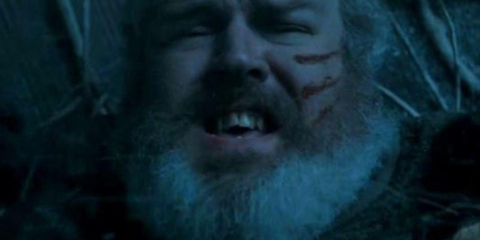 Murió sosteniendo la puerta para salvar a sus amigos de los Caminantes Blancos. Foto:vía HBO