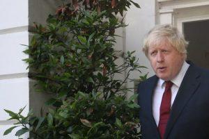 Y el exalcalde de Londres, Boris Johnson Foto:AFP
