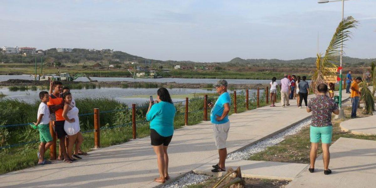 El Parque Lineal del Lago El Cisne, primera zona verde sostenible del Área Metropolitana de Barranquilla