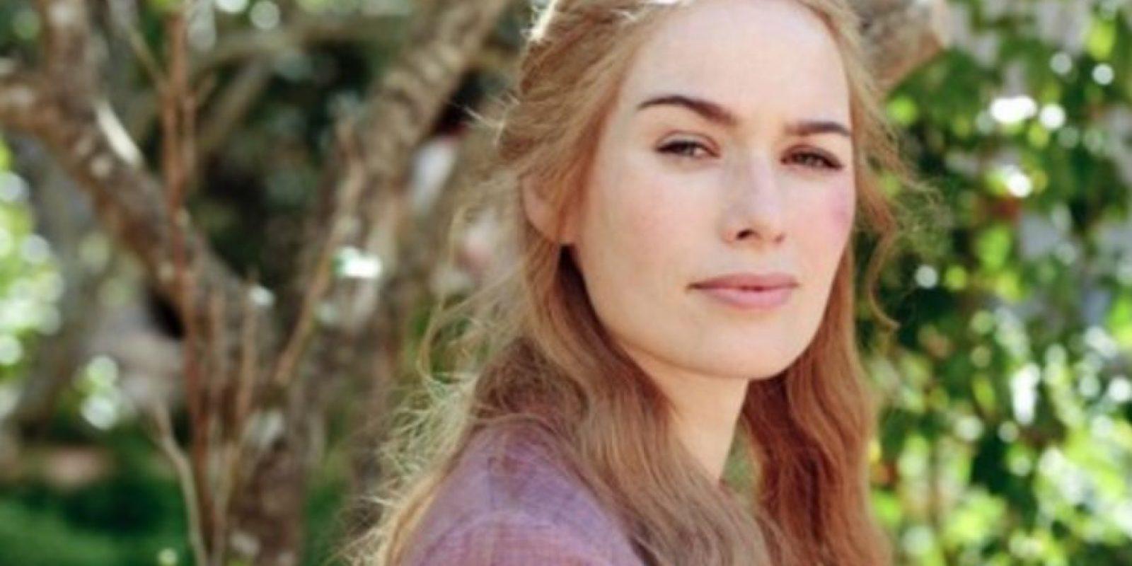 Pero se hizo famosa mundialmente como Cersei Lannister. Foto:HBO